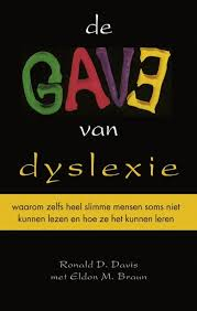 "cover book ""de gave van dyslexie"""