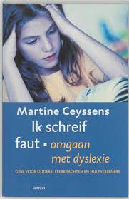 """cover book """"ik schreif faut"""""""