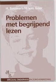 """cover book """"problemen met begrijpend lezen"""""""