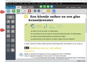 Screenshot van Kurzweil lezen