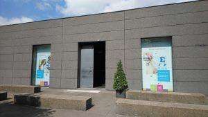 Voorkant van kantoor Sensotec in Jabbeke