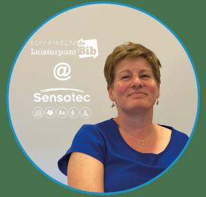 Saskia Boets van Luisterpuntbib bij Sensotec